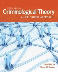 Criminological Theory 2nd Edition 9781449681517 1449681514