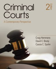 Criminal Courts 2nd Edition 9781452257228 1452257221