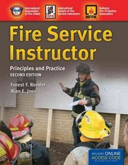 Fire Service Instructor 2nd Edition 9781449670832 1449670830