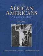 African Americans: A Concise History, Volume 2 Plus NEW MyHistoryLab with eText -- Access Card Package 4th edition 9780205108862 0205108865