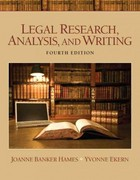 Legal Research, Analysis, and Writing Plus NEW MyLegalStudiesLab Virtual Law Office Experience with Pearson eText -- Access Card Package 4th edition 9780133060751 0133060756