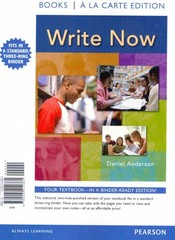 Write Now, Books a la Carte Plus NEW MyCompLab -- Access Card Package 1st edition 9780321886897 0321886895