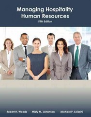 Managing Hospitality Human Resources with Answer Sheet (AHLEI) 5th Edition 9780133097122 0133097129