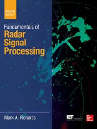 Fundamentals of Radar Signal Processing, Second Edition 2nd Edition 9780071798334 0071798331