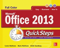 Microsoft® Office 2013 QuickSteps 3rd Edition 9780071805889 0071805885
