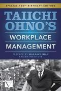 Taiichi Ohnos Workplace Management 1st Edition 9780071808019 0071808019