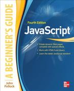 JavaScript A Beginners Guide 4th Edition 9780071809375 0071809376
