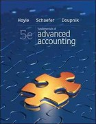 Loose-Leaf Fundamentals of Advanced Accounting 5th edition 9780077489397 007748939X