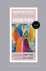 Best of the Best American Poetry 25th Edition 9781451658880 1451658885