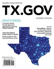 TX.GOV (with CourseMate Printed Access Card) 1st Edition 9781133964414 1133964419