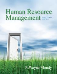 Human Resource Management 13th Edition 9780133043549 0133043541