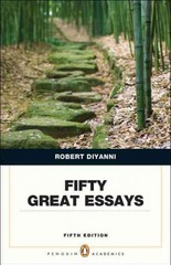 Fifty Great Essays 5th Edition 9780321848499 0321848497