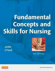 Fundamental Concepts and Skills for Nursing 4th Edition 9781437727463 1437727468