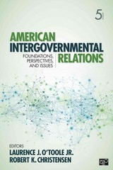 American Intergovernmental Relations 1st Edition 9781452226293 1452226296