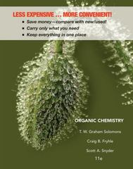 Organic Chemistry 11th edition 9781118147399 1118147391