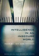 Intelligence in an Insecure World 2nd Edition 9780745652788 0745652786