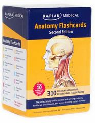 Anatomy Flashcards 2nd Edition 9781607149842 1607149842