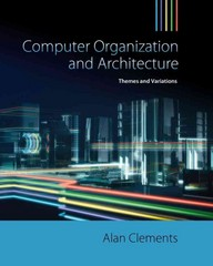 Computer Organization & Architecture 1st edition 9781111987046 1111987041