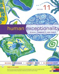 Cengage Advantage Books: Human Exceptionality 11th edition 9781133964377 1133964370