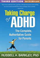 Taking Charge of ADHD 3rd Edition 9781462507894 1462507891