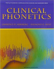 Clinical Phonetics and Audio CDs 4th Edition 9780132978019 0132978016