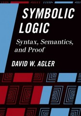 Symbolic Logic 1st Edition 9781442217423 1442217421