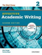 Effective Academic Writing 2e Student Book 2 2nd Edition 9780194323475 0194323471