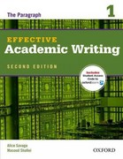 Effective Academic Writing 2e Student Book 1 2nd Edition 9780194323468 0194323463