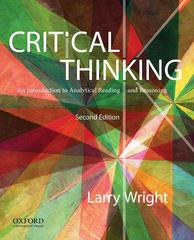 Critical Thinking 2nd edition 9780199796229 019979622X