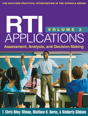 RTI Applications 1st Edition 9781462509140 1462509142
