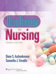 Drug Therapy in Nursing 4th Edition 9781451187663 1451187661
