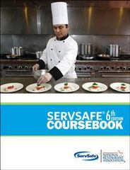 ServSafe CourseBook with Online Exam Voucher Plus NEW MyServSafeLab with Pearson eText 6th Edition 9780133077735 013307773X