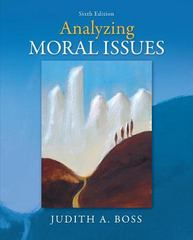 Analyzing Moral Issues 6th Edition 9780078038440 0078038448
