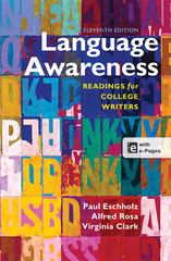 Language Awareness 11th Edition 9781457610783 1457610787