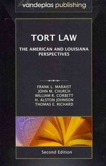 Tort Law 2nd Edition 9781600421648 1600421644