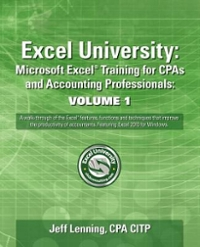 Excel University 1st Edition 9781456441838 1456441833