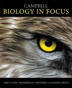 Campbell Biology in Focus 1st edition 9780321813800 0321813804