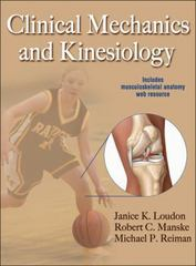 Clinical Mechanics and Kinesiology 1st Edition 9780736086431 0736086439