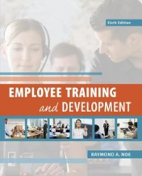 Employee Training and Development 6th Edition 9780078029219 007802921X