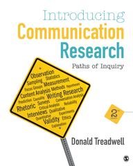 Introducing Communication Research 2nd Edition 9781452217352 1452217351