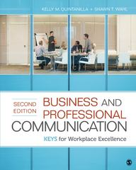 Business and Professional Communication 2nd Edition 9781452217628 1452217629