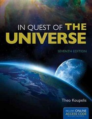 In Quest Of The Universe 7th Edition 9781449687755 144968775X