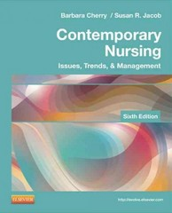 Contemporary Nursing 6th Edition 9780323101097 0323101097