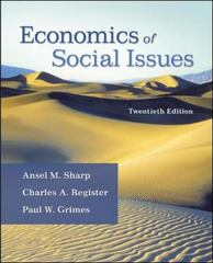 Economics of Social Issues 20th edition 9780073523248 0073523240