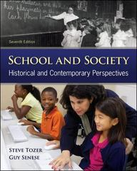 School and Society 7th edition 9780078024405 0078024404