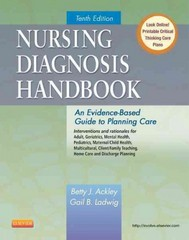 Nursing Diagnosis Handbook 10th Edition 9780323085496 0323085490