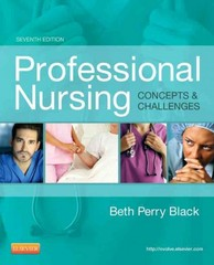 Professional Nursing 7th Edition 9781455702701 1455702706