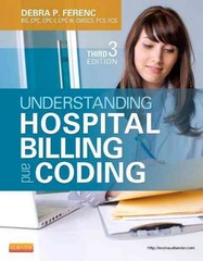Understanding Hospital Billing and Coding 3rd Edition 9781455723638 1455723630