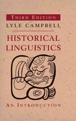 Historical Linguistics 3rd Edition 9780262518499 026251849X