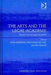 The Arts and the Legal Academy 1st Edition 9781317044383 131704438X